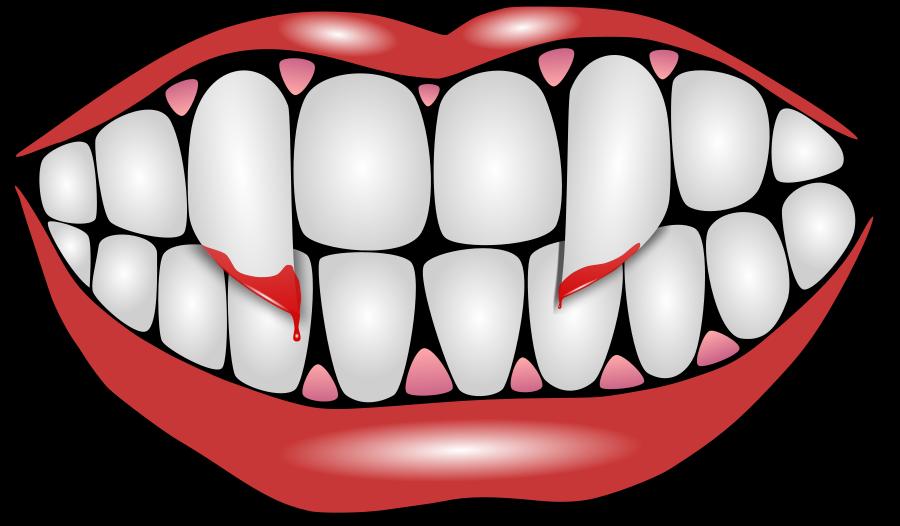5712 Teeth free clipart.