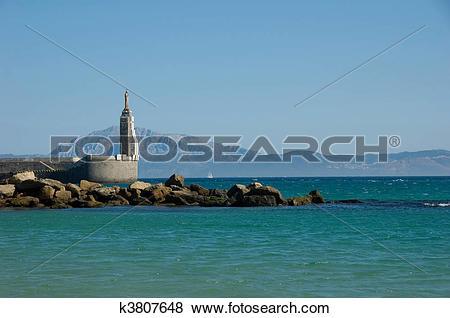 Pictures of Strait of Gibraltar, Tarifa k3807648.