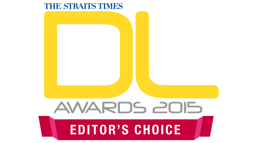 THE STRAITS TIMES DL AWARDS 2015 EDITOR\'S CHOICE Vector Logo.