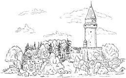Stramberk Ii Stock Illustrations.
