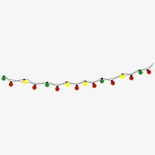 Lights Clipart Christmas Light Strand.