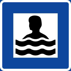 Badplats.