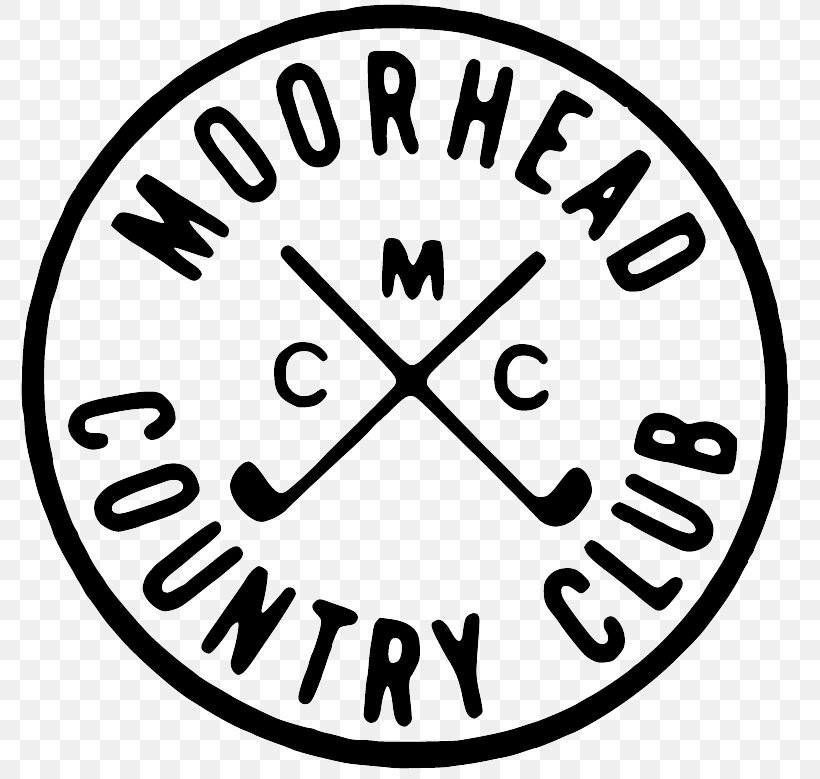 Moorhead Country Club Clip Art Design Logo, PNG, 809x779px.