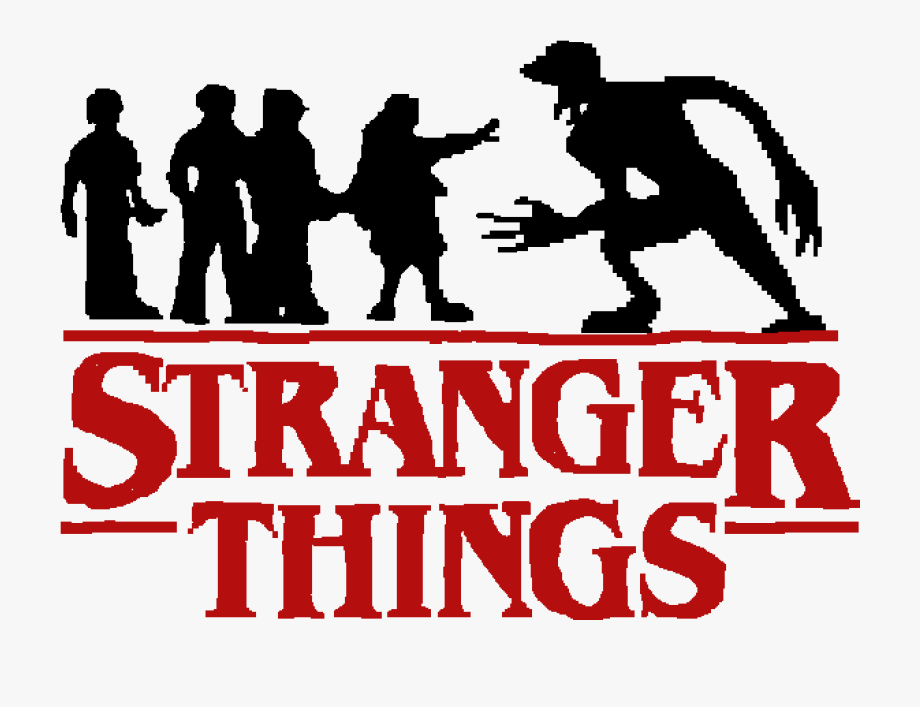Logo De Stranger Things Png Clipart , Png Download.
