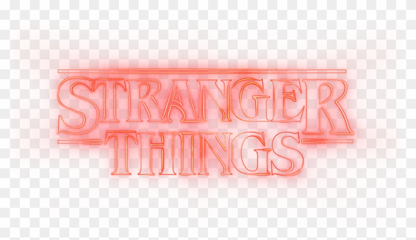 Stranger Things Logo Png, Transparent Png.