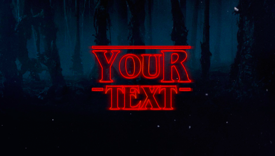 Stranger Things\' logo generator makes any text a bit.