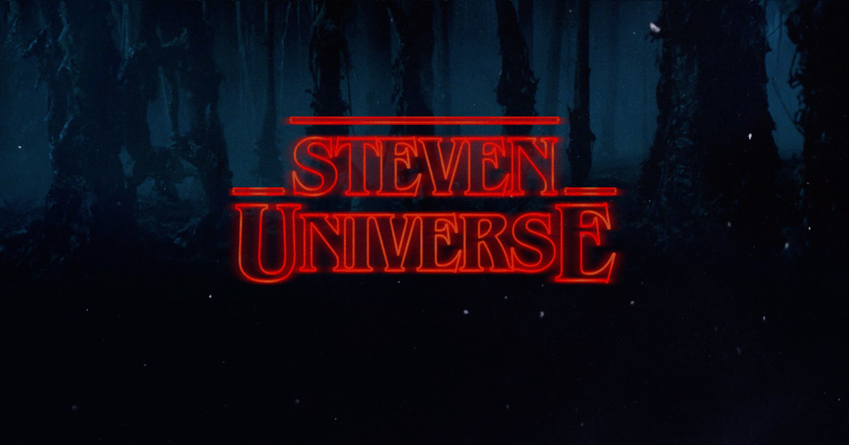 I had a bit of fun with the \'Stranger Things\' title font.