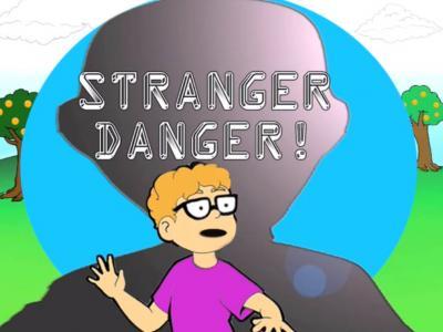 Stranger Danger Clip Art.