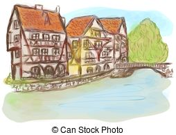 Strasbourg Clip Art and Stock Illustrations. 346 Strasbourg EPS.