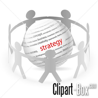 CLIPART STRATEGY BALL.
