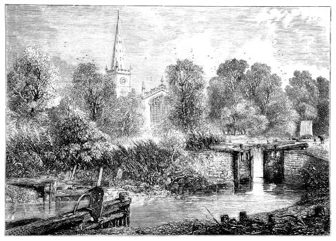 Stratford Upon Avon Clip Art, Vector Images & Illustrations.