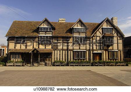 Stock Photo of England, Warwickshire, Stratford upon Avon.