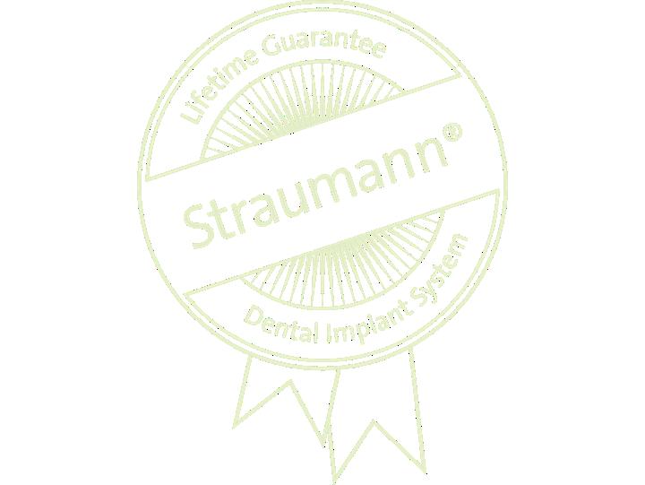 Straumann® Guarantee.