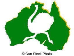 Vector Clip Art of Nature Australia.