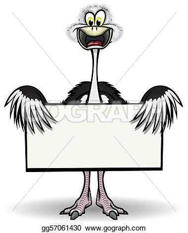 Wing Ostrich Clip Art.