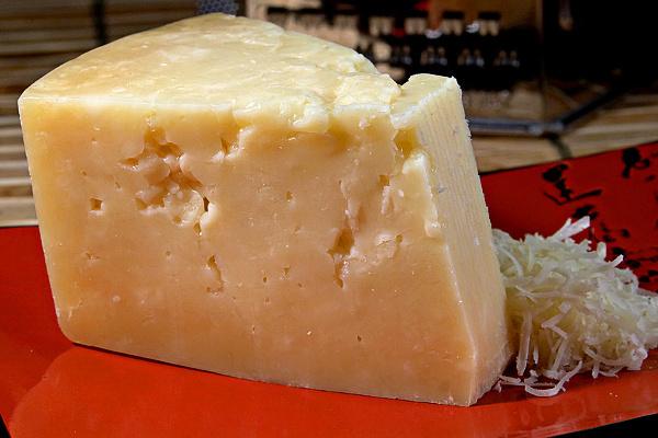 Stravecchio Parmesan cheese.