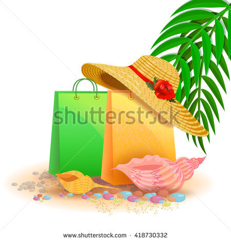 Straw Bag Stock Photos, Royalty.