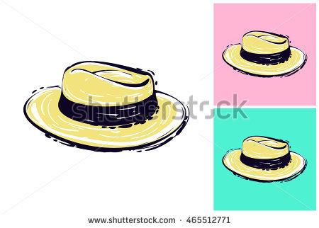 Straw Hat Stock Photos, Royalty.