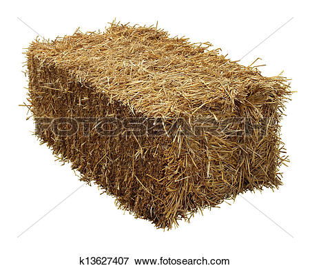 Straw bale clipart - Clipground