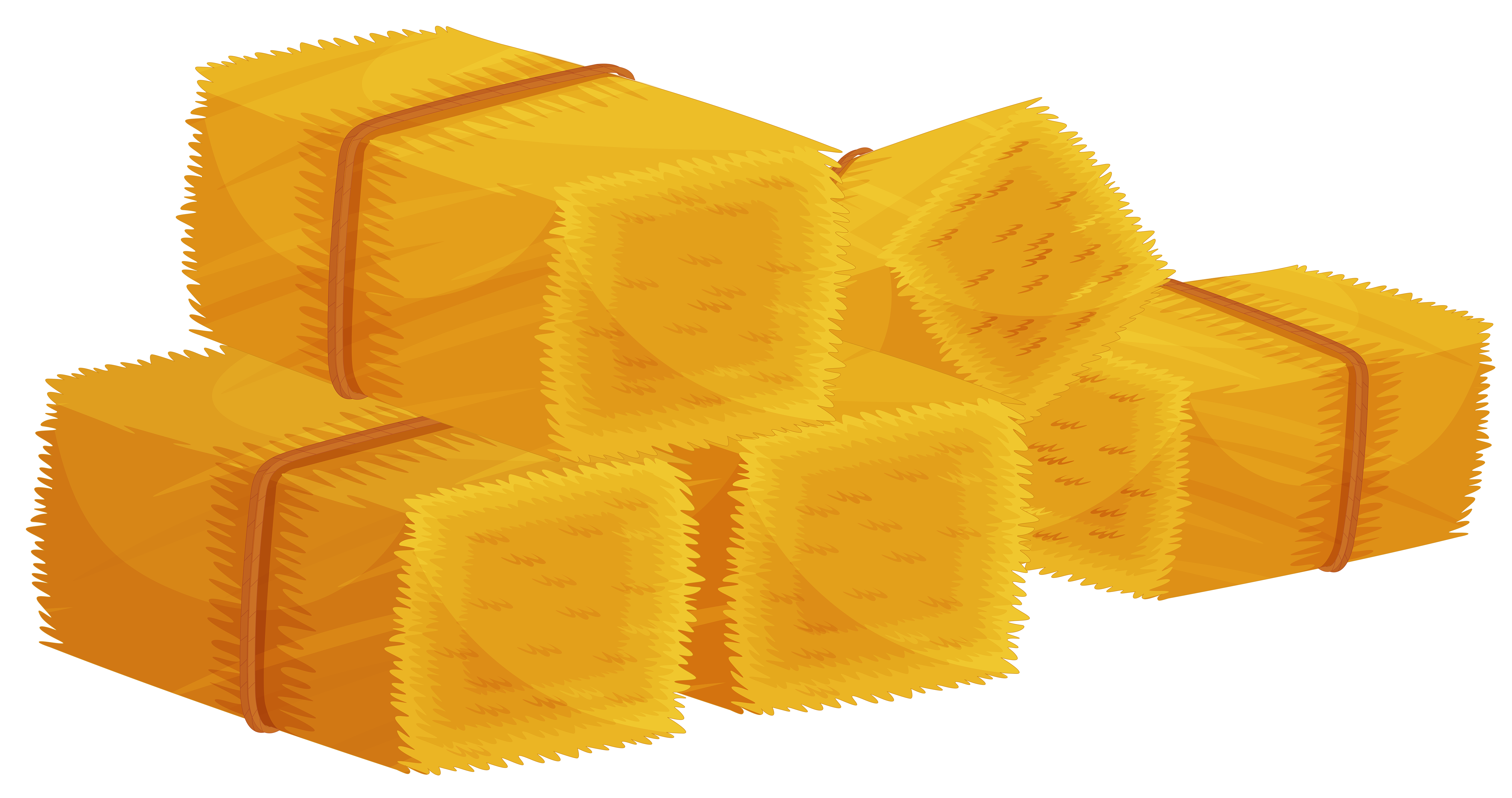 Hay bales clipart.