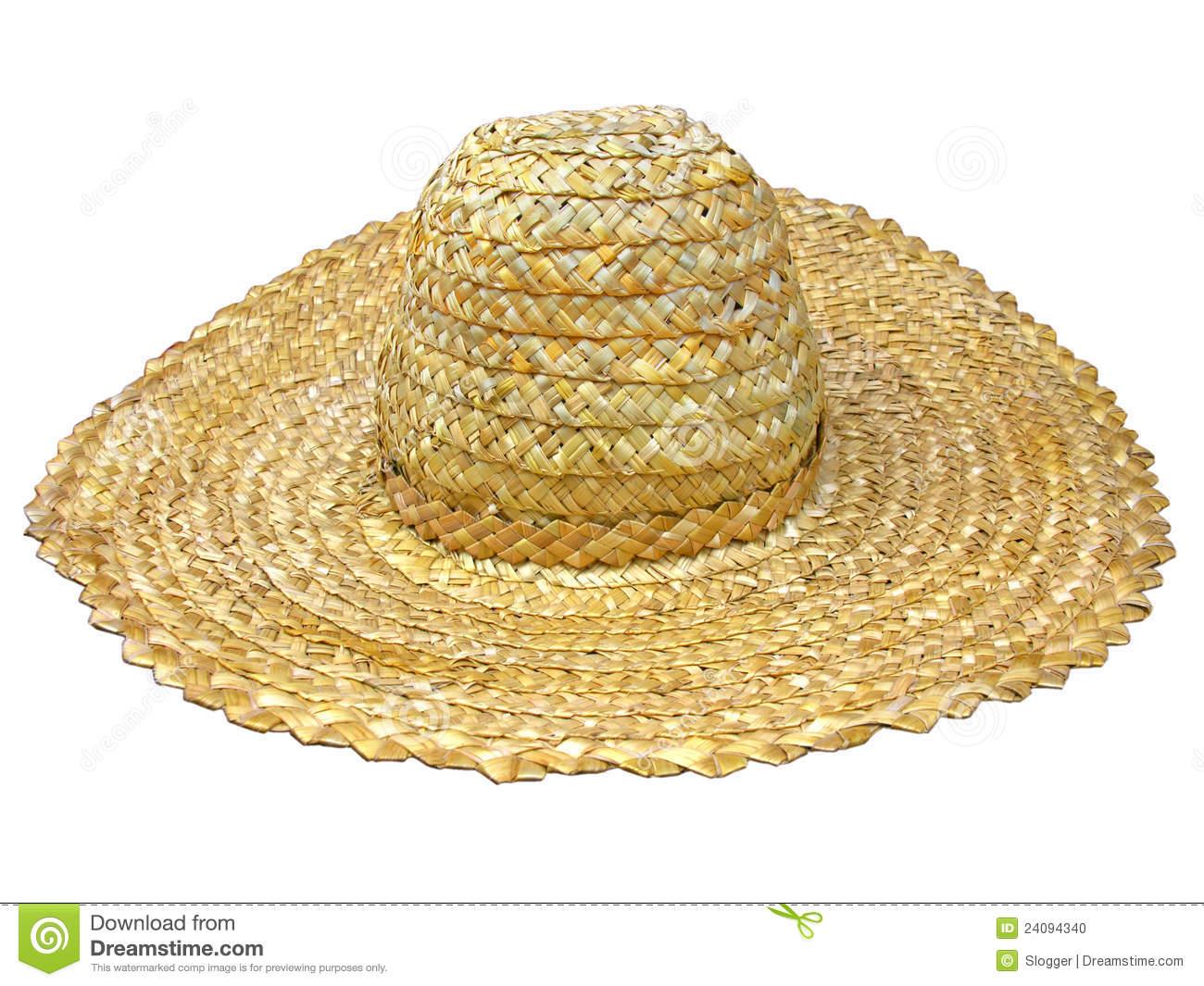 Straw Hat Clipart.
