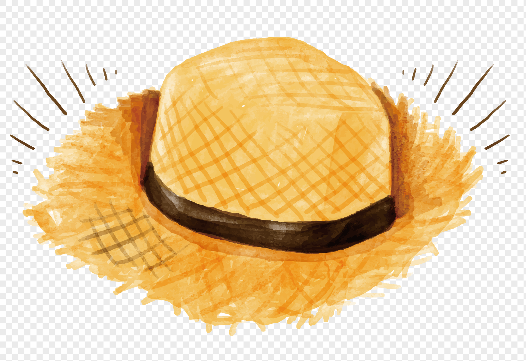 Straw Hat Png (96+ Images In Collection) #528260.