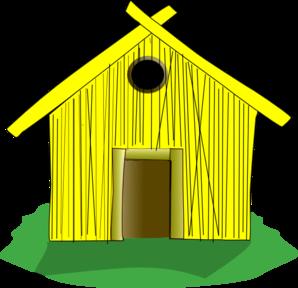 Straw House Clip Art at Clker.com.