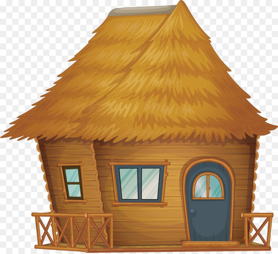 Straw house clipart 3 » Clipart Portal.