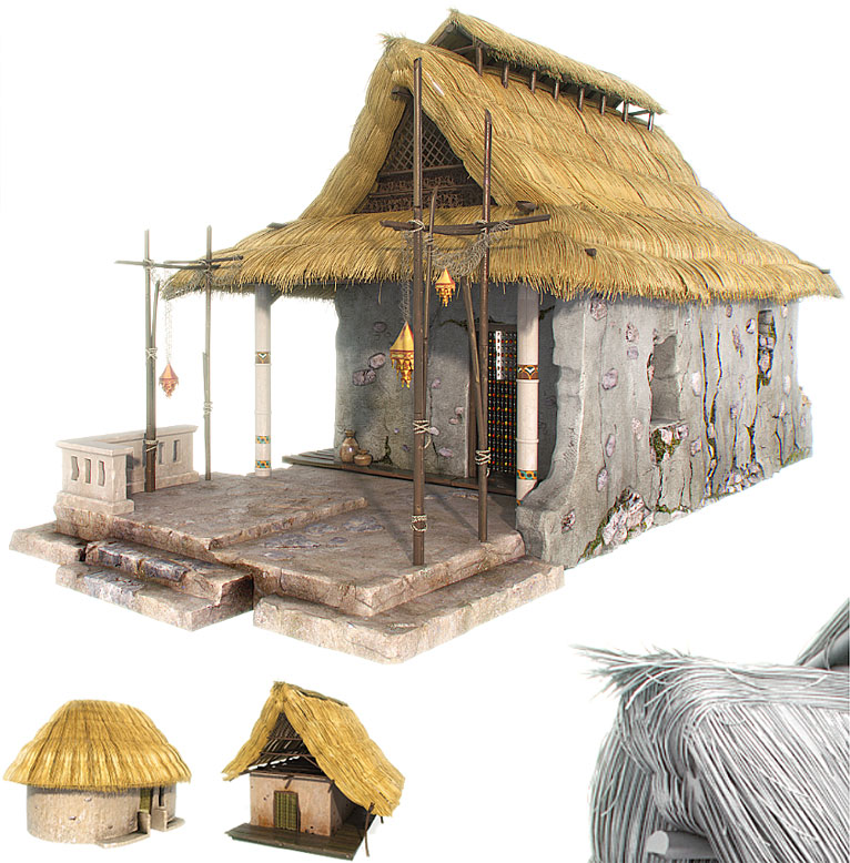 Straw Hut Clipart 20 Free Cliparts Download Images On