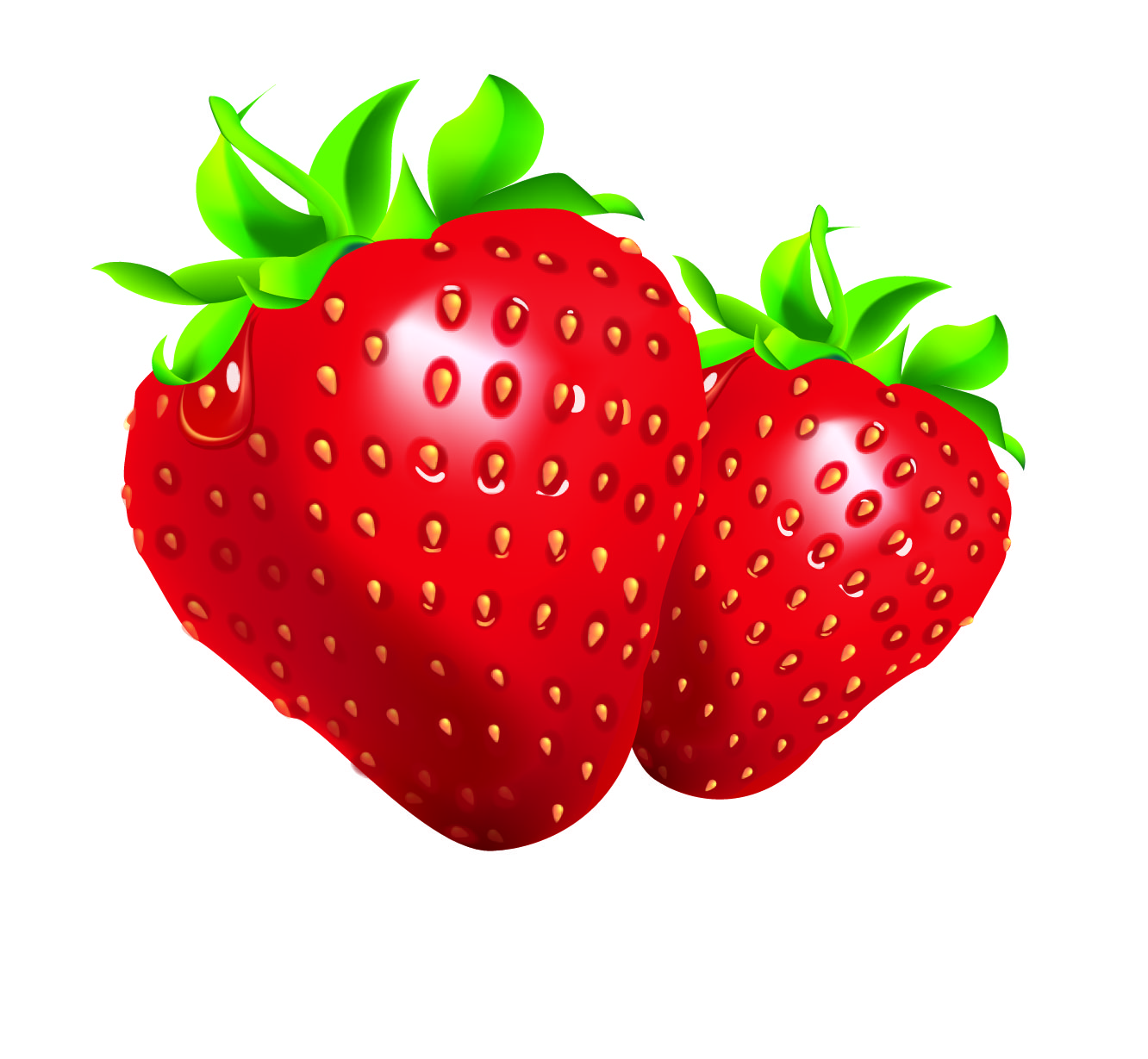 Strawberry clipart clip art of 9 clipartwork.