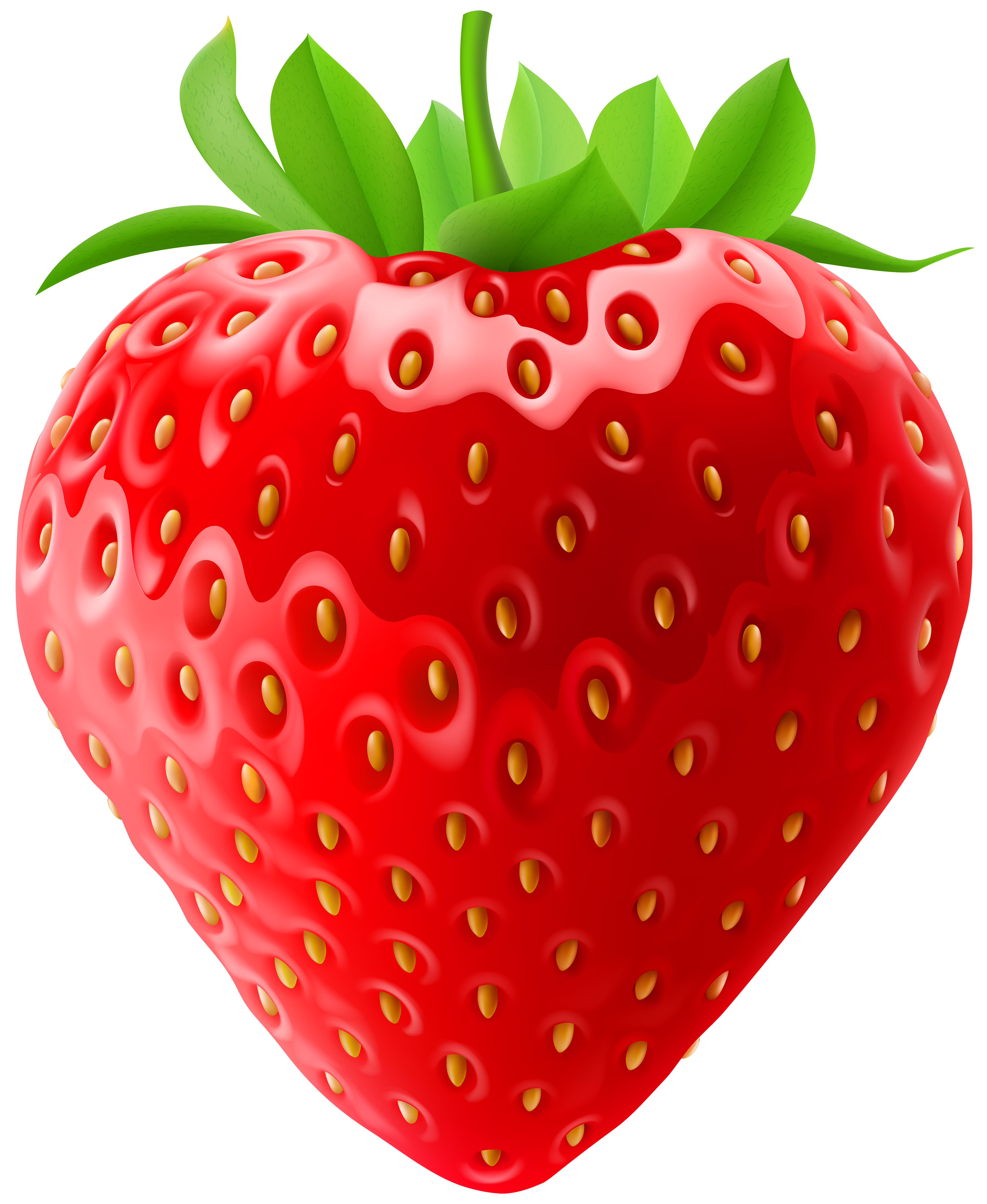Strawberry Clip Art PNG Image.