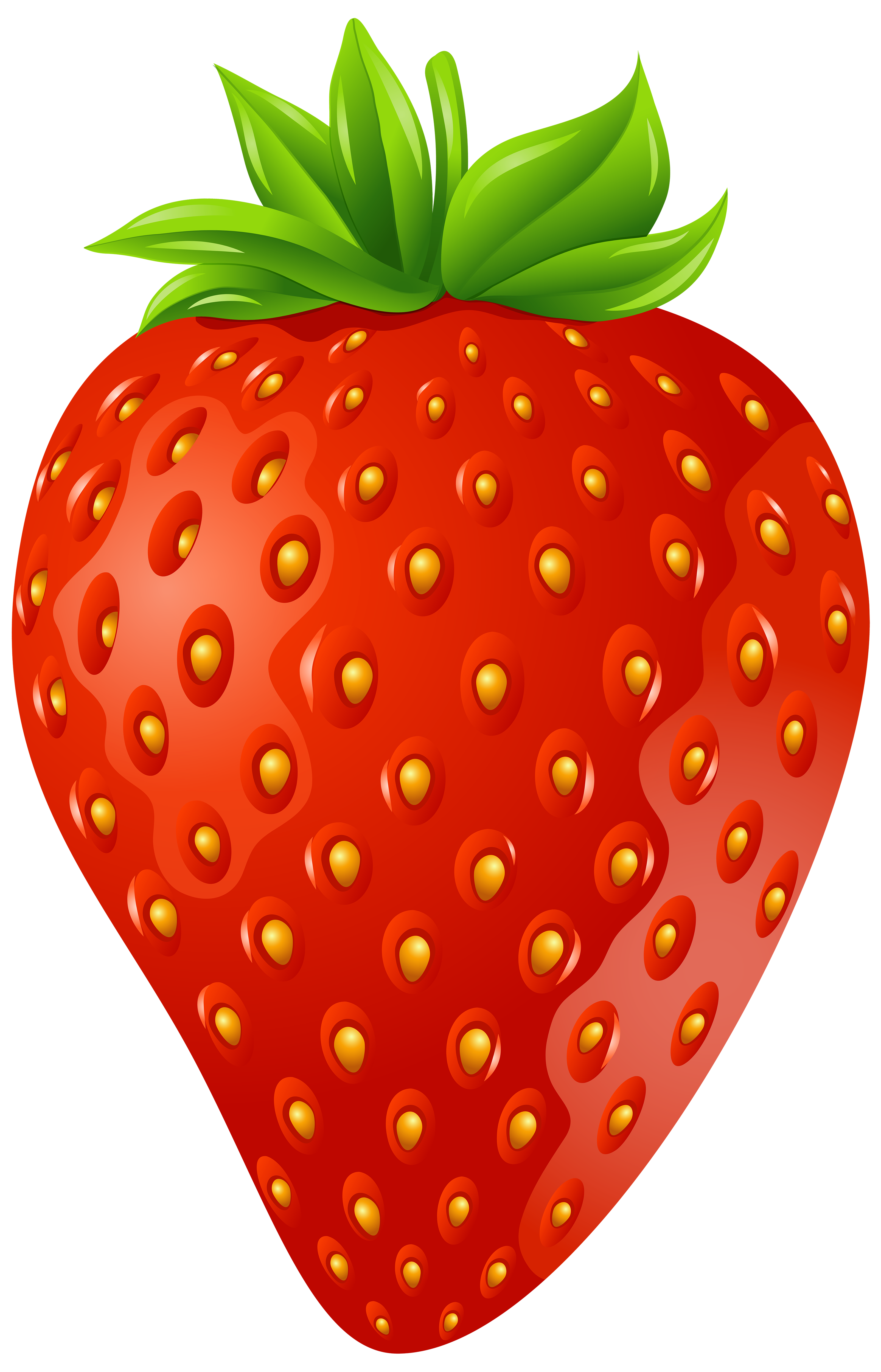 Strawberry PNG Clip Art Image.
