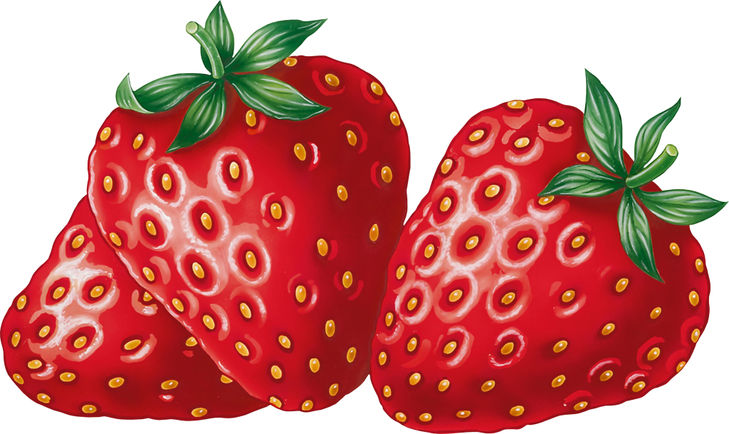Strawberries clip art.