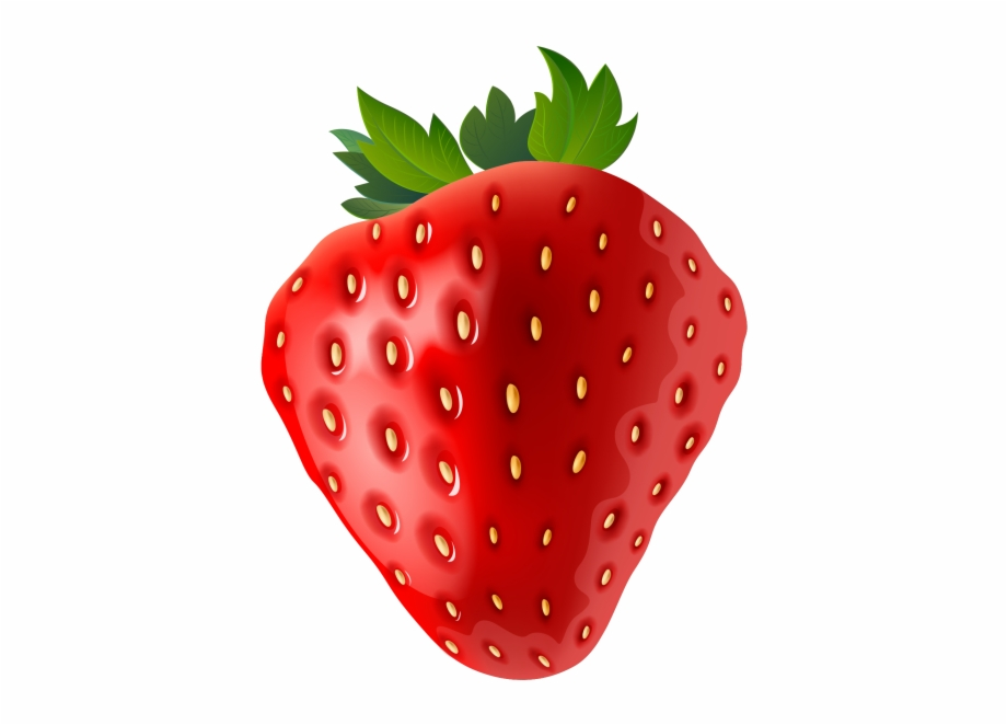 Strawberry Clipart Transparent Background.