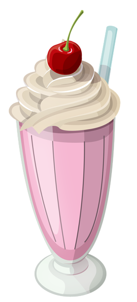 Strawberry milkshake clipart 2 » Clipart Station.