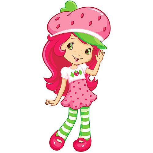 Strawberry Shortcake Clipart Group with 76+ items.
