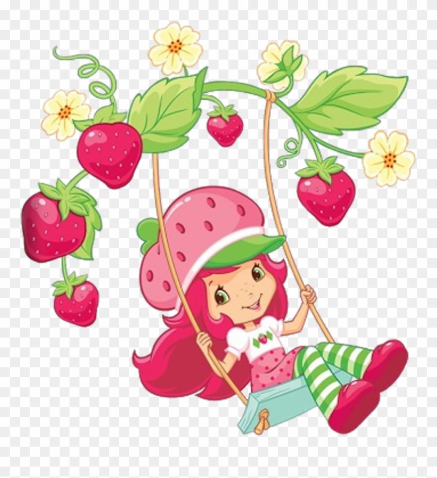 Strawberry Cupcake Cartoon Strawberry Shortcake Cartoon.