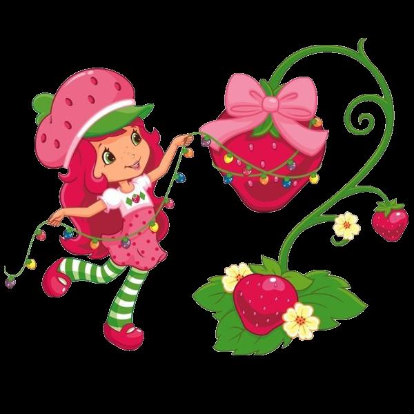 Strawberry Shortcake Clipart.