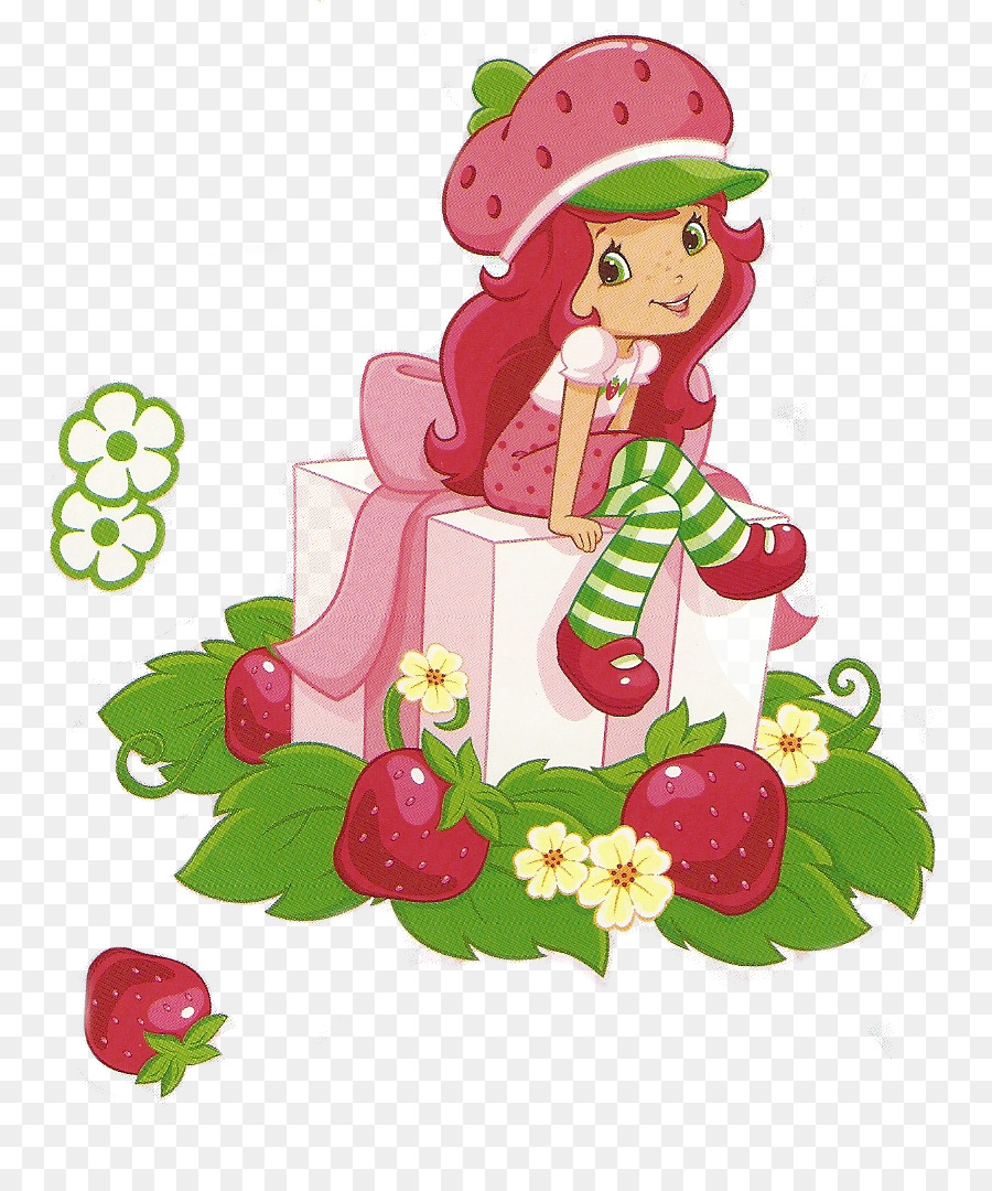Strawberry Shortcake Cartoon clipart.