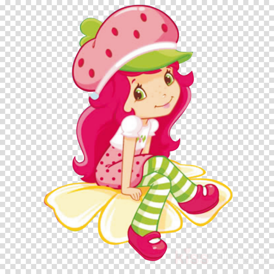 Strawberry Shortcake Cartoon clipart.