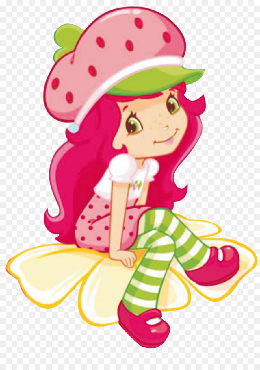 Strawberry Shortcake Cartoon png download.