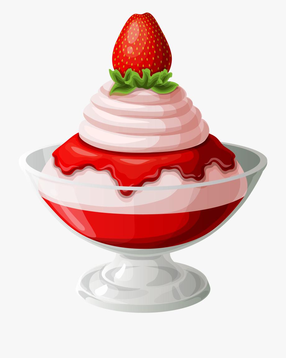 Ice Cream Sundae Transparent.
