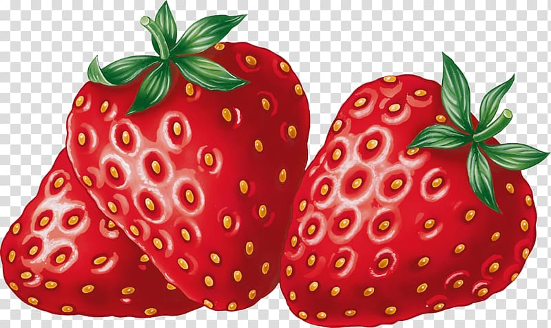 Strawberry Fruit , Strawberry transparent background PNG.