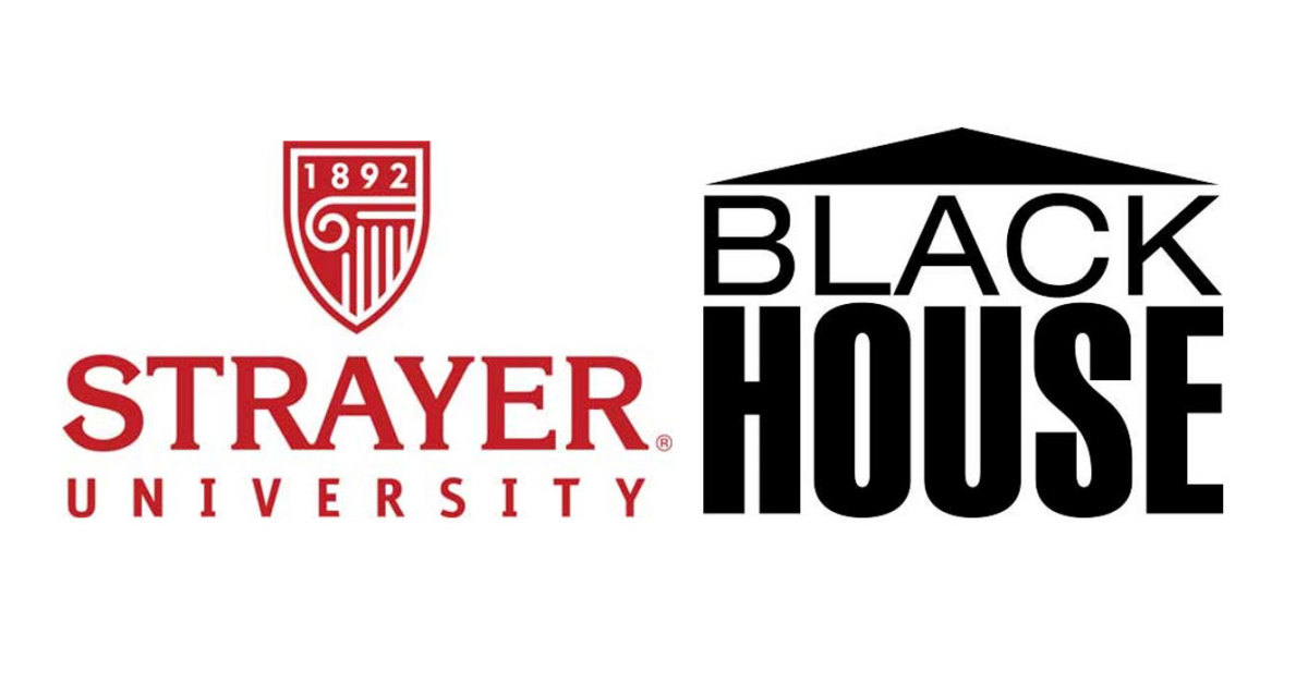 Strayer University and The Blackhouse Foundation Launch.