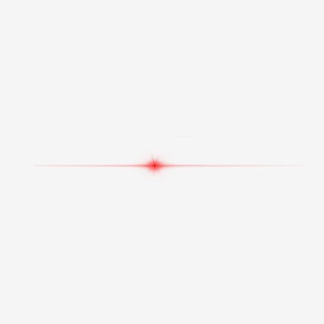 Red Streak Light Hd Lens Flare Effect, Abstract, Light.
