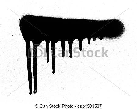 Spray Paint Streaks Clipart.