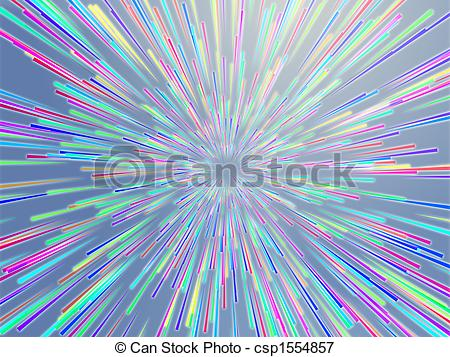 Stock Illustrations of Burst streaks of light.
