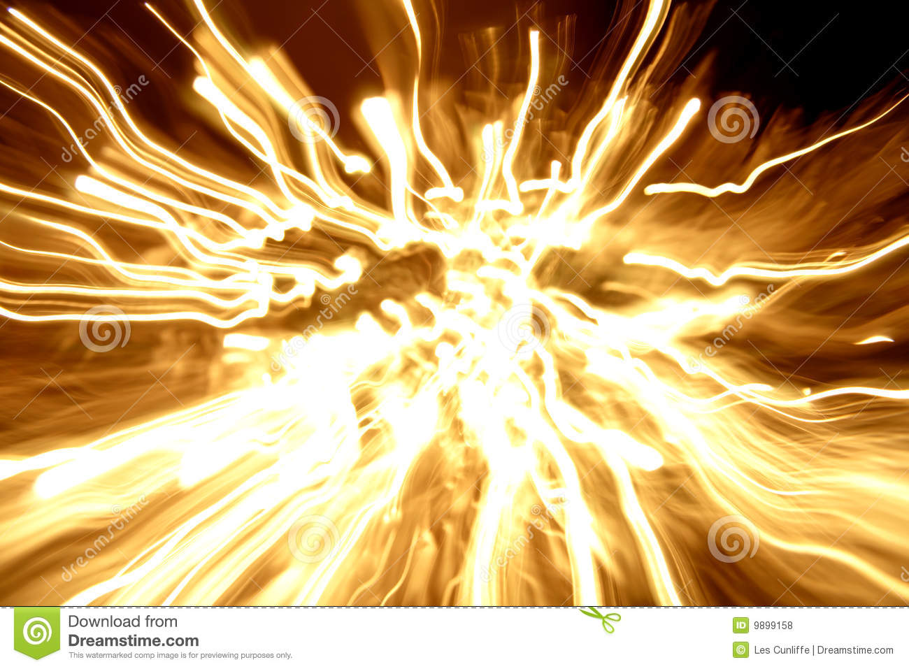 Burst Streaks Of Light Stock Images.