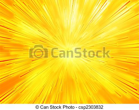 Clip Art of Burst streaks of light.