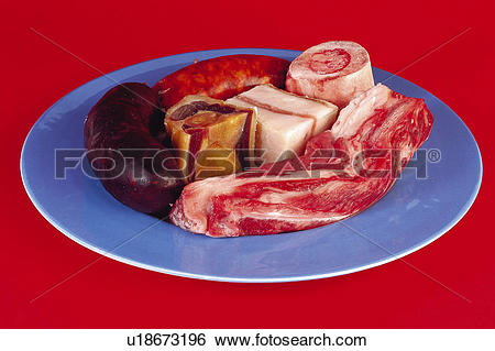 Stock Images of Food, Meat, Raw, Raw meat, Pork, Pork meat.